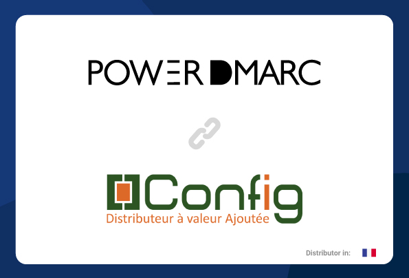 PowerDMARC partnership with Config
