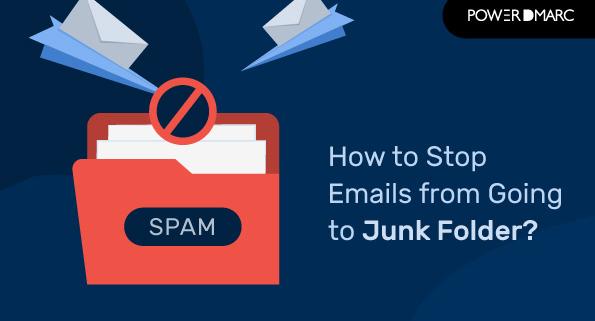 correos electrónicos que van a la carpeta de correo no deseado