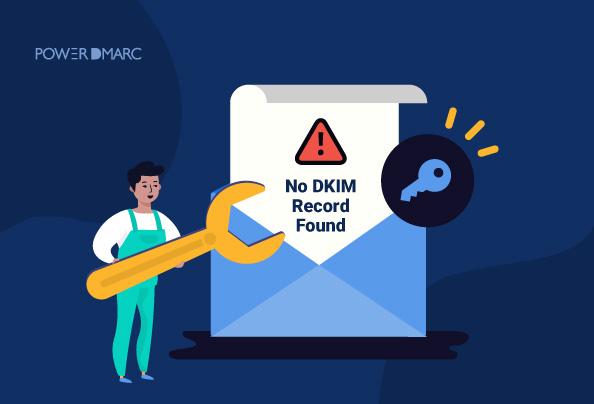 """Hoe kan ik """"Geen DKIM record gevonden"""" oplossen?"""