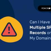 ¿Puedo tener varios registros SPF en mi dominio?