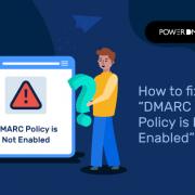 DMARC beleid niet ingeschakeld