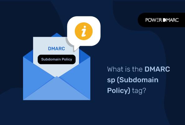 Что такое метка DMARC sp (политика поддоменов)?